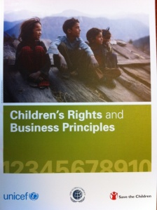 Children´s Rights and Business Principles