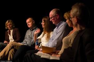 Paneldebatt JazzAid Foto: Morten Christensen