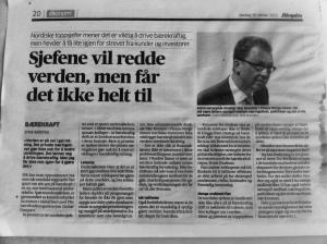 Faksimile Aftenposten 28.10.13