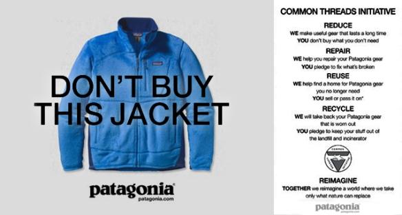 Patagonia: Don´t buy this lacket